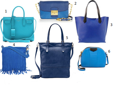 El color de la temporada bags women - Cual es el color anil ...